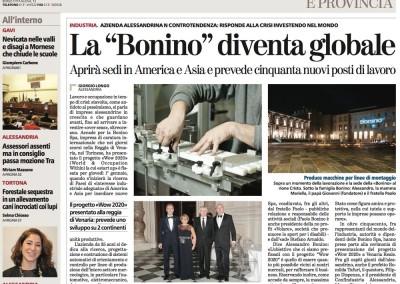 """WOW2020! – """"La Stampa"""" del 21 dicembre 2013"""