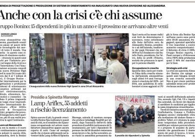La Stampa – Anche con la crisi c'è chi assume